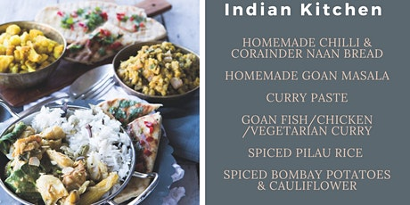 Indian Kitchen Cook-A-Long Demonstration with East Coast Cookery School tickets