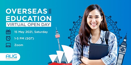 Overseas education Virtual open day tickets
