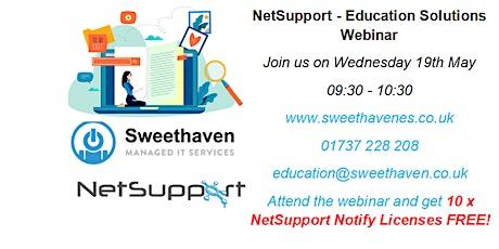 NetSupport – Education Solutions Webinar tickets