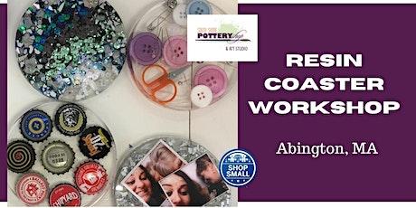 Resin Coaster Workshop tickets
