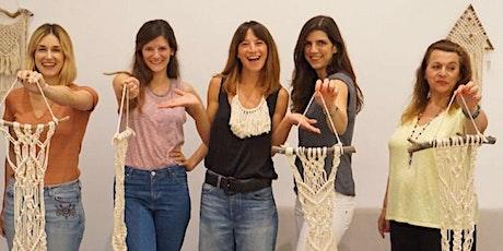 Beginners' Macramé Wall Hanging Workshop tickets