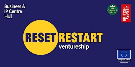 Reset. Restart: Ventureship - Your business online tickets