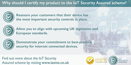 Introduction to IoT Security Assured tickets