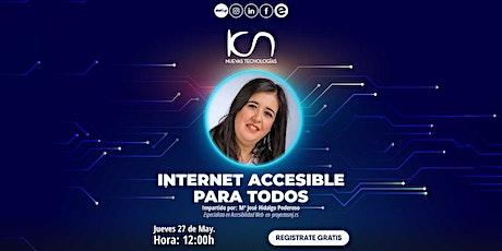 """KCN NUEVAS TECNOLOGÍAS """"Internet accesible para todos"""" 27May entradas"""
