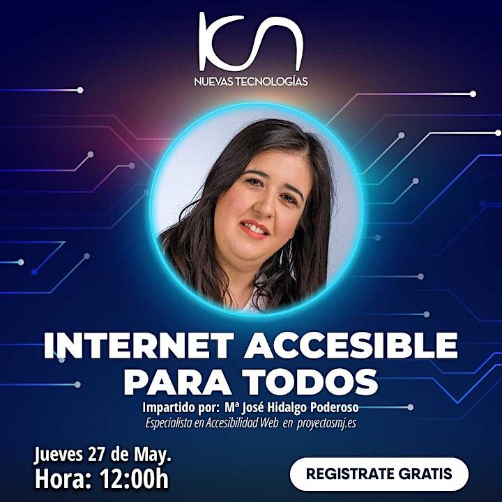 """Imagen de KCN NUEVAS TECNOLOGÍAS """"Internet accesible para todos"""" 27May"""