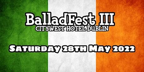 BalladFest III (Night Two) tickets