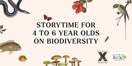 Storytime for 4-6 on Biodiversity @ Jurong Regional Library | Early READ tickets