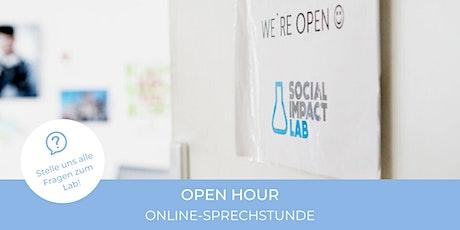 OPEN HOUR - Online-Sprechstunde für (Gründungs)Interessierte Tickets