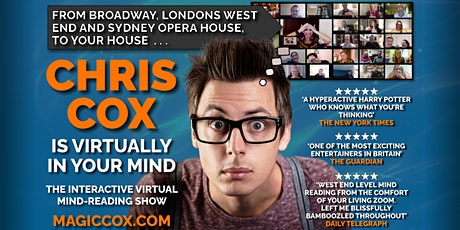 PA Forum & PA Guide - Broadway, West End & BBC TV Star, Chris Cox tickets
