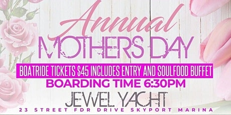 Mother's Day Dinner on the River tickets