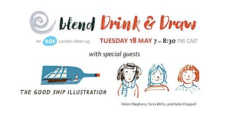 Blend Drink & Draw tickets