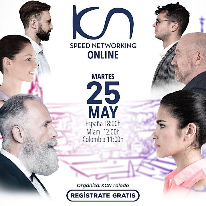 Imagen de KCN Toledo Speed Networking Online 25May