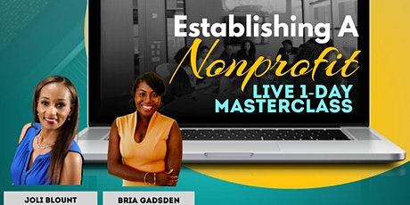 Establishing A Nonprofit Organization: Live 1-Day Masterclass tickets