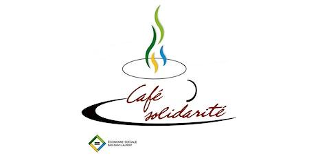 Café-Solidarité, projets collectif jeunesse et incubateur SISMIC billets