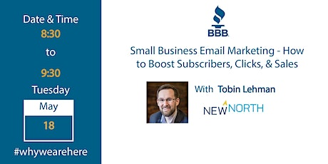 Small Business Email Marketing - How to Boost Subscribers, Clicks & Sales tickets