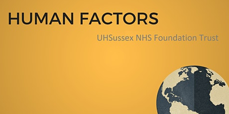 Dr Rob Galloway's Human Factors Workshop tickets