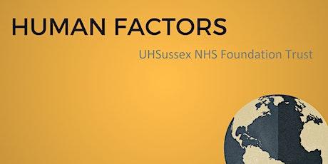 Dr Rob Galloway's Human Factors Workshop tickets
