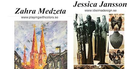 Zahra Medzeta o Jessica Jansson - Uppsalamålningar o Skrotmystik tickets