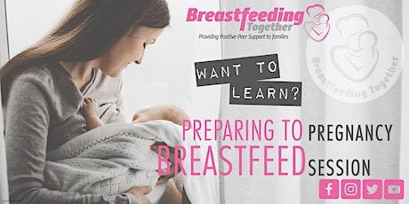 Preparing To Breastfeed biglietti