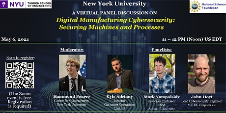 Cybersecurity in Digital Manufacturing: Securing Machines and Processes tickets