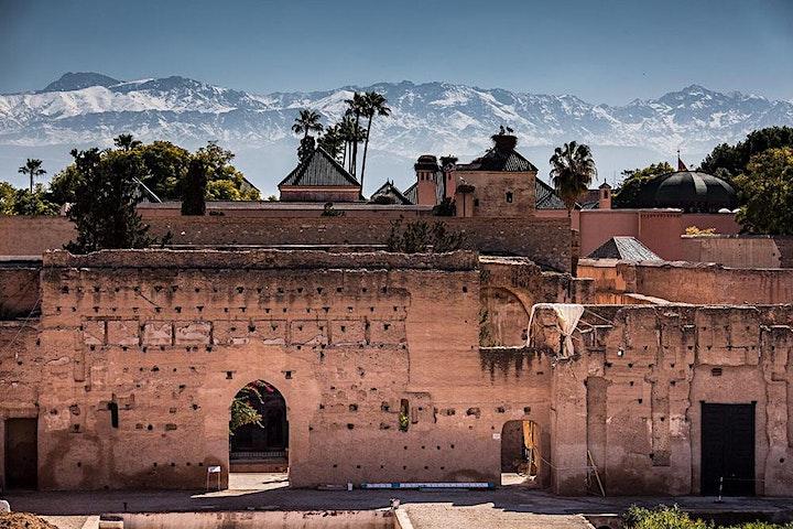 Virtual Live Marrakech Historical Tour of El Badi Palace and Bahia Palace image