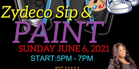 Zydeco Paint & Sip tickets