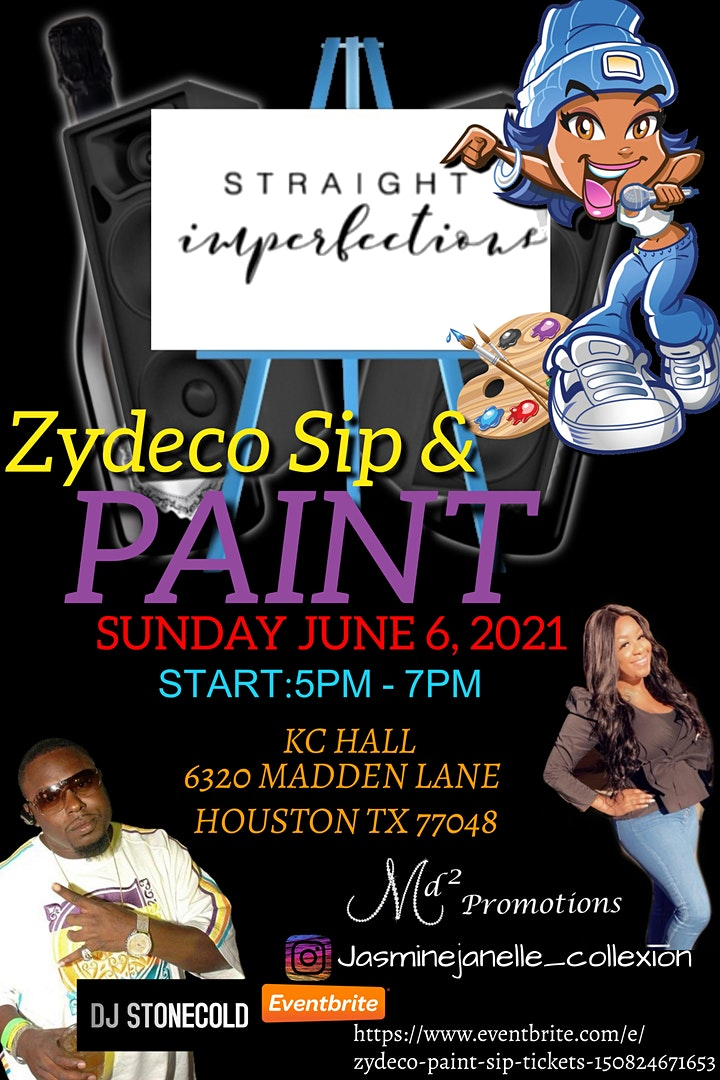 Zydeco Paint & Sip image