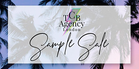 TCB Agency Sample Sale tickets