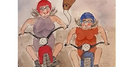 Karin Hedin - Akvareller o Vykort på Galleri Upsala tickets