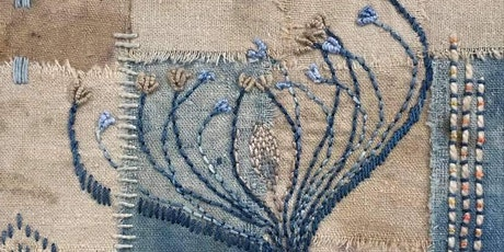 Traditional embroidery with contemporary applications tickets