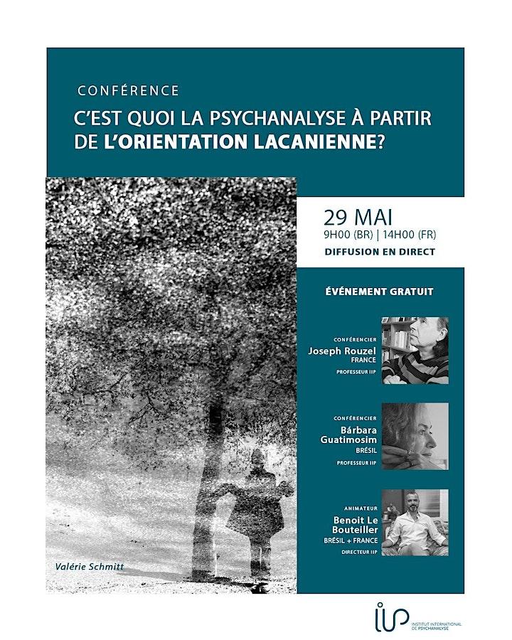 Image pour Conférence: C'est Quoi la Psychanalyse à Partir de L'orientation Lacanienne