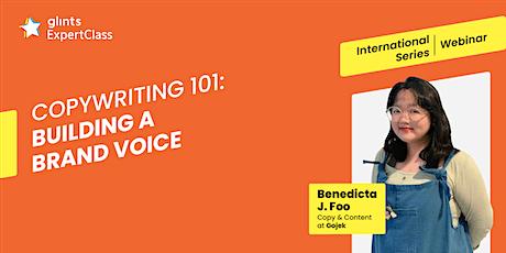 GEC International - Copywriting 101: Building a Brand Voice tickets