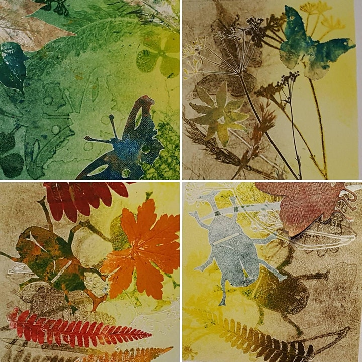 Botanical Monoprinting Workshop  - Find and create art in nature image