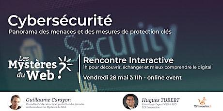 Cybersécurité : Panorama des menaces | LMDW billets