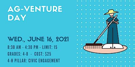 AG-Venture Day (Grades 4-8 - $25) tickets