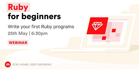 [Webinar] Learn to code with Ruby Programming Language for Beginners billets