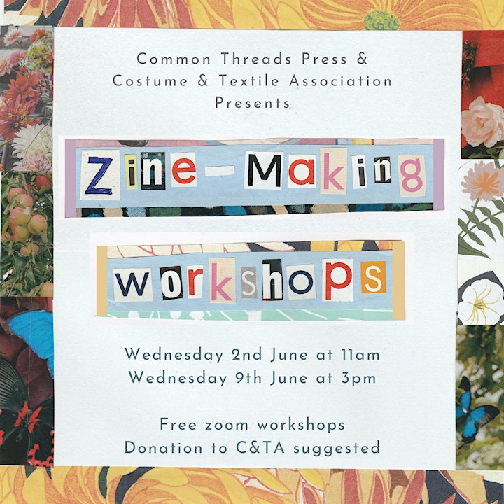 Norfolk Makers' Festival Quilt Zine Workshop with Common Threads Press image