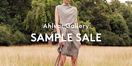 Ahlvar Gallery - Sample Sale tickets