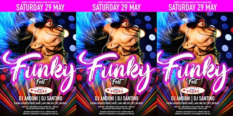 FUNKY-FEST @ VEGAS HOTEL - THE FUNKIEST PARTY IN SYDNEY tickets
