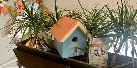 Milk Painted Birdhouse tickets