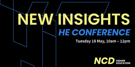 New Insights HE Conference 2021 tickets