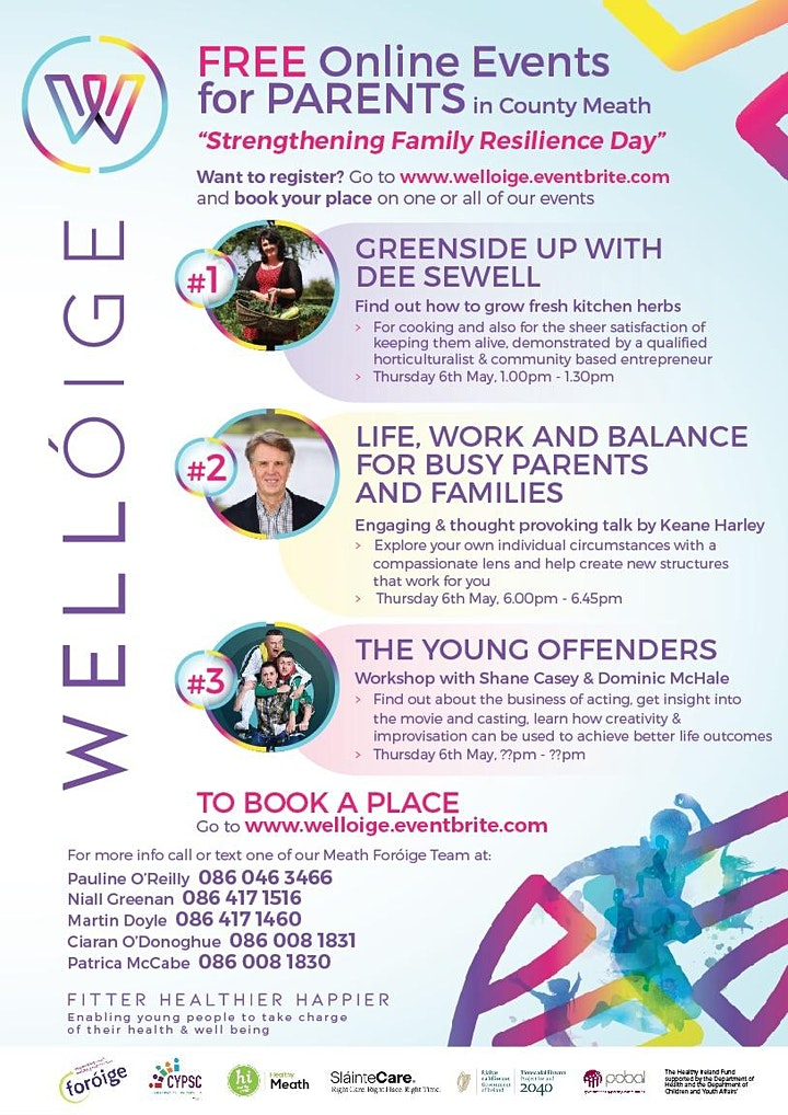 """Meath Wellóige """"KeepWell"""" Life Work Balance in a Pandemic with Keane Harley image"""