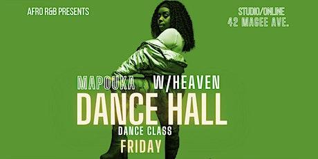 Afro R&B: Mapouka Dance Hall class w/Heaven (ONLINE) tickets