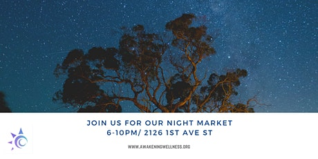 Second Saturday Night Market tickets