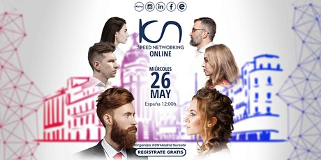 KCN Madrid Sureste Speed Networking Online 26May tickets