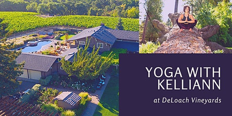 Yoga in the Vineyards at DeLoach tickets