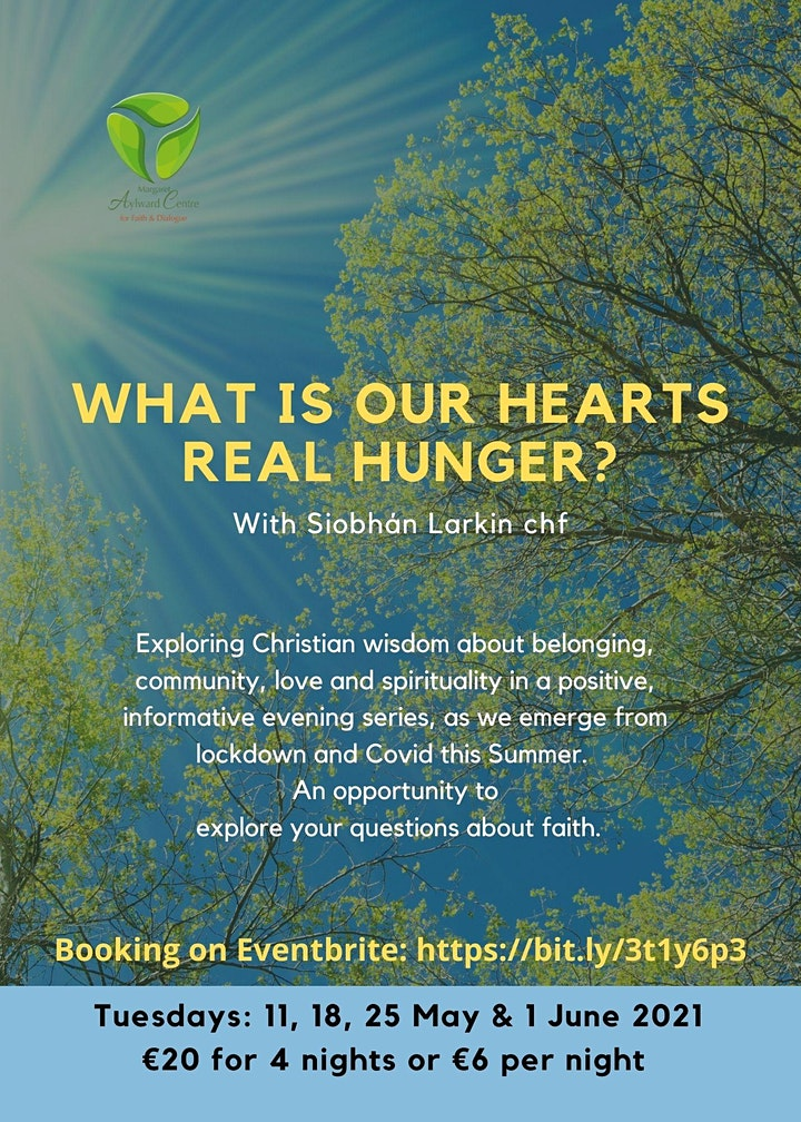 What is our Hearts Real Hunger? One Night attendee image