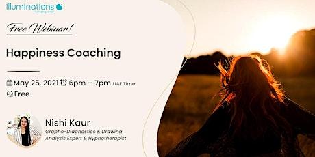Free Webinar! Happiness Coaching with Nishi Kaur entradas