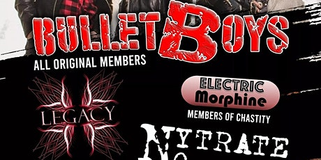 Bullet Boys at The Rail Club Live tickets