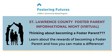 St. Lawrence County Foster Parent Informational Night (Virtual) tickets